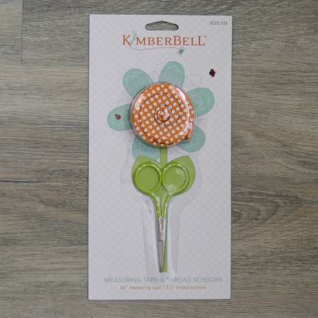 Kimberbell Measuring Tape and Thread Scissor Set
