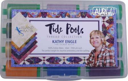 Aurifil Thread Collection Tide Pools Collection by Kathy Engle