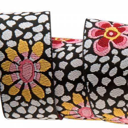 7/8 Guinea flower - Kaffe Fasset / Renaissance Ribbon