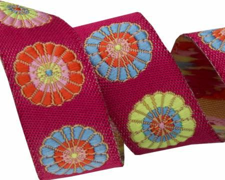 5/8 Turkish Flowers Ribbon  Kaffe Fassett