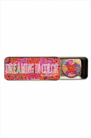 Kaffe Fassett Dreaming in Color Magnetic Needle Tin