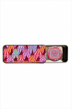 Kaffe Fassett Glamping Magnetic Needle Tin