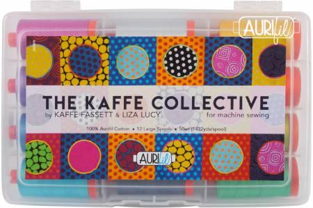 The Kaffe Collective Thread by Kaffe Fassett & Liza Lucy 50wt 12 Large Spools