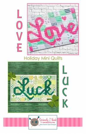 Love and Luck Mini Quilts Pattern