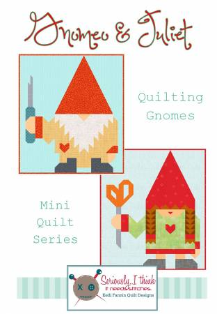 Gnomeo & Juliet Mini Quilt Series Pattern