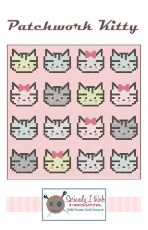 Patchwork Kitty Quilt Pattern
