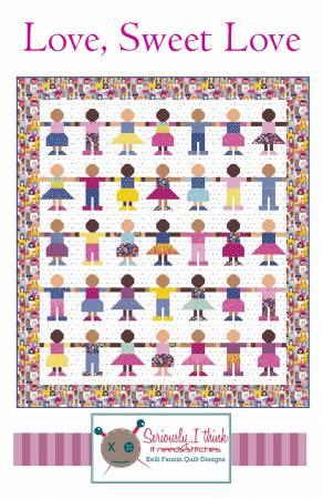 Love Sweet Love Quilt Pattern