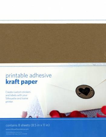 Adhesive Kraft Paper 8pk