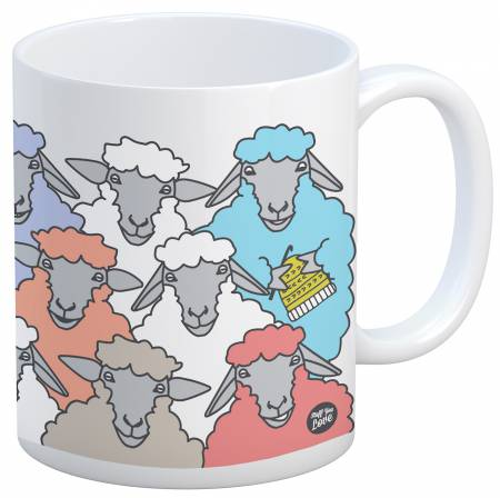 Colorful Sheep Mug