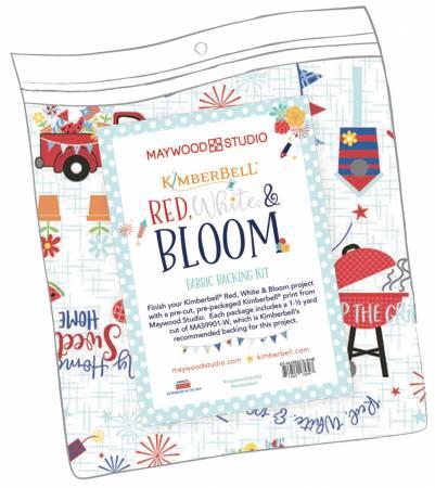 Red White & Bloom Backing Kit, 1.5yds