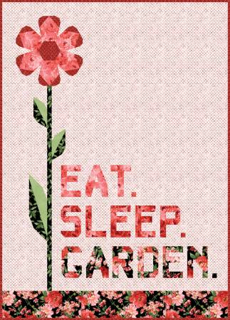 Prose Eat Sleep Garden Quilt Kit