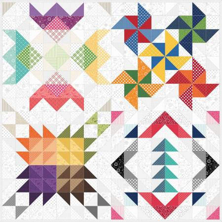 Quilt Kit Kimberbell Basics; 72in x 72in
