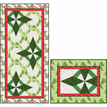 All The Trimmings Table Runner & Placemats Kit