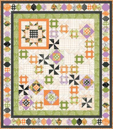Quilt Kit Spellcaster's Garden, 66.5in x 72.5in