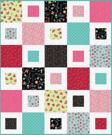 Quilt Kit Sheryl Kit 48in x 57in