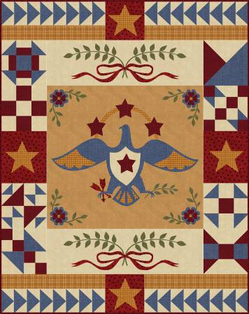 Sweet Liberty Kit - Flannel 38in x 48in  (PRECUT) (#2506)