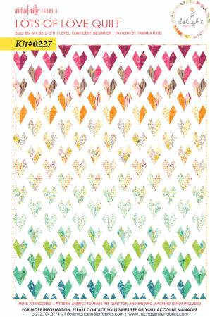 Lots of Love Gradient Quilt Kit