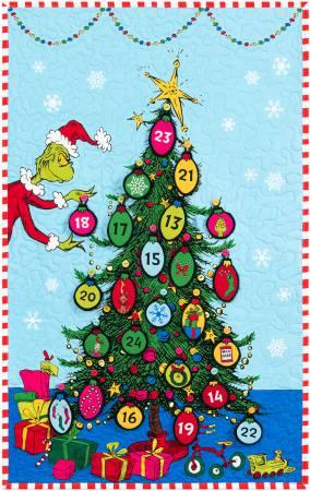 Grinchmas Tree Fabric Countdown Kit by Robert Kaufman Fabrics