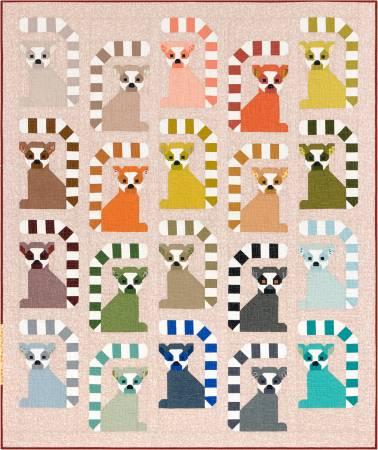 Adventure Lana Lemur Quilt Kit: (Elizabeth Hartman)