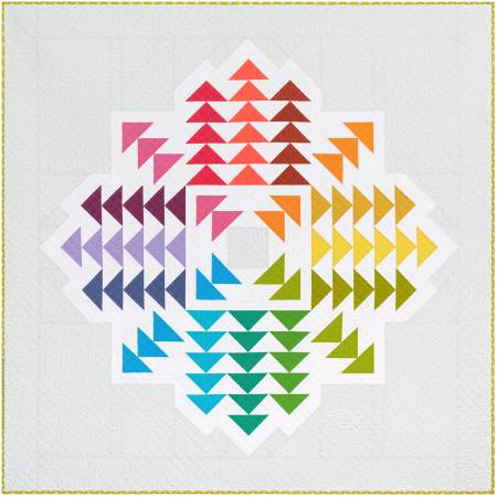Crystal Cluster Quilt Kit 70in x 70in