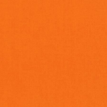 Kona Cotton in Kumquat by Robert Kaufman