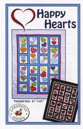 Karie Patch Designs - Happy Hearts