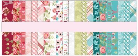 Kaisley Rose 2-1/2in Strips