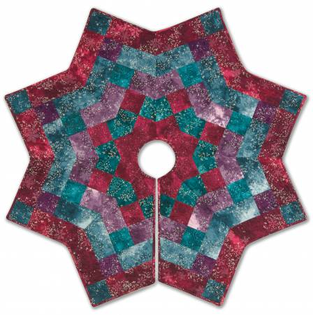 Kringles Kaleidoscope Tree Skirt