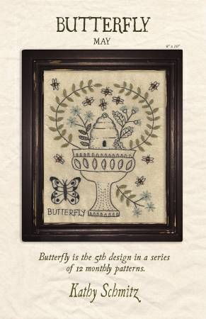 Butterfly (May) by Kathy Schmitz kit