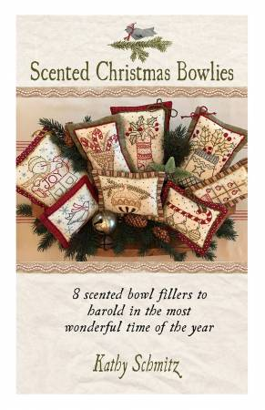 Scented Christmas Bowlies Pattern by Kathy Schmitz