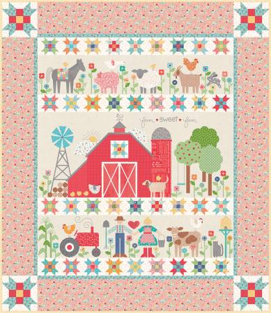 Farm Girl Vintage W/O Template-Pattern 75in x 87in