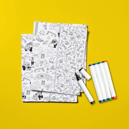 Color Me Pillowcase Kit - Caterpillar