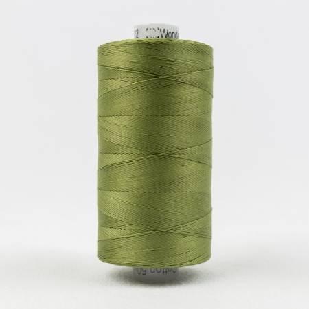 Konfetti 50# 3 Ply Cotton Thread 1000m Spool - 612-Olive Green