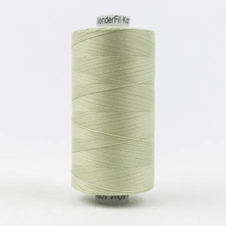 Konfetti 50# 3 Ply Cotton Thread 1000m Spool - 700-Light Sage Green