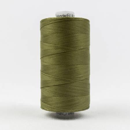 Konfetti 50# 3 Ply Cotton Thread 1000m Spool - 703-Avocado Green