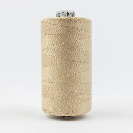 Konfetti Solid 50wt Cotton Thread 1000m Nude