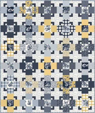 Gingham Foundry Trixie Quilt Kit - Coming Soon!
