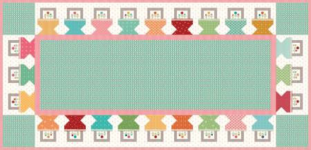 Prim Baskets Table Runner Boxed Kit
