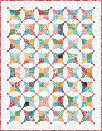 Flea Market Windows Boxed Quilt Kit by Lori Holt of Bee in my Bonnet for Riley Blake