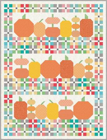 Pumpkins And Plaids Quilt Kit