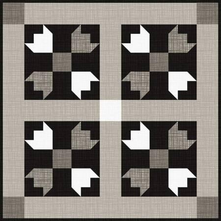 Flat Iron Mini Quilt Kit (20.5 x 20.5 inch) - Riley Blake  Designs