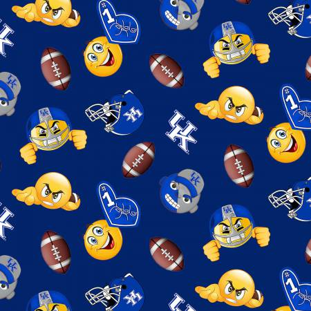 University of Kentucky Emoji Fleece