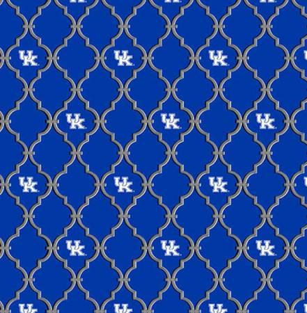 Kentucky Cotton Quatrefoil
