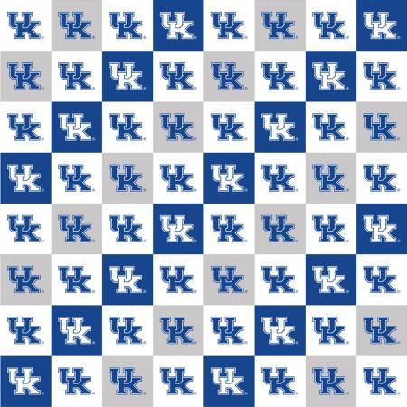 Kentucky UK Wildcats Squares Digitally Printed 1498-03