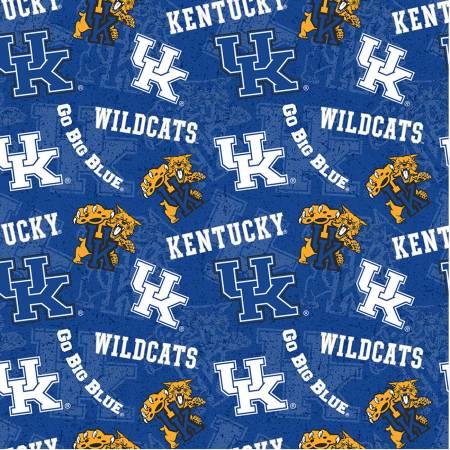 NCAA Kentucky Tone on Tone Cotton