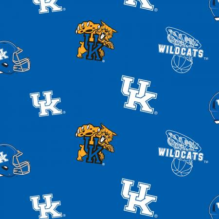 University of Kentucky Minky  60 Wide