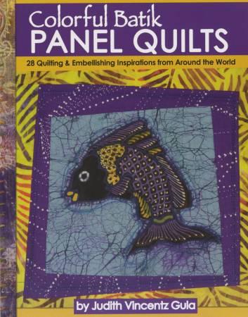 Colorful Batik Panel Quilts