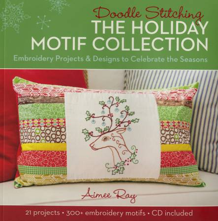 Doodle Stitching: The Holiday Motif Collection - Softcover