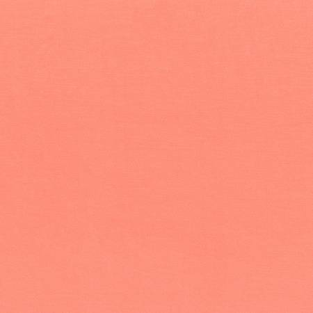 58in Wide - Laguna Cotton Jersey Knit - Coral