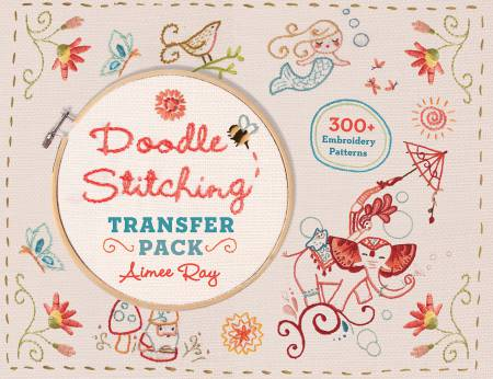 Doodle Stitching Transfer Pack - Softcover